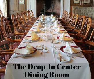 The Drop-In Center Dining Room